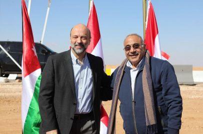 عبد المهدي والرزاز على خط الحدود.. اتمام اتفاقية نفطية مثيرة للجدل!