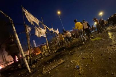 اعتقال 4 أشخاص أطلقوا النار على متظاهرين في أحداث