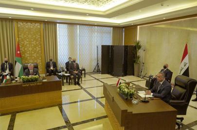 العراق في القمة الثلاثية: موقف ثابت بدعم دولة فلسطينية عاصمتها القدس