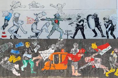 حوار| سنان حسين: غرافيتي التحرير مثل الثورة.. لن يموت