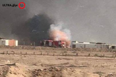 إصابات وتضارب.. انفجارات تهزّ معسكرًا لحشد السيستاني في النجف