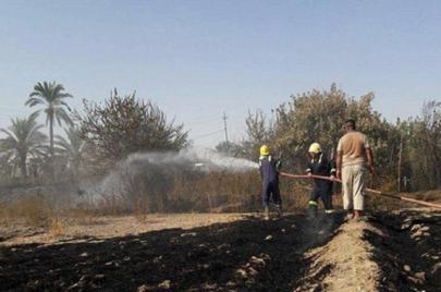 تسجيل 196 حريقًا خلال شهر واحد في العراق.. عدد مهول للمحاصيل الزراعية!
