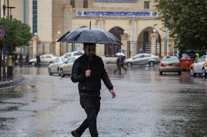 توقعات الطقس: أجواء غير مستقرة واستمرار هطول الأمطار الرعدية بهذه المناطق