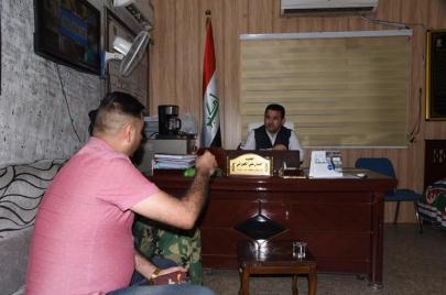 الداخلية تستدعي مدير مكافحة إجرام الكرادة بتهمة تسريب صور