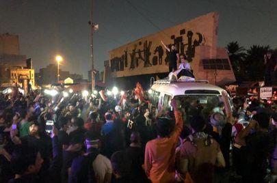 ساحة التحرير تودع
