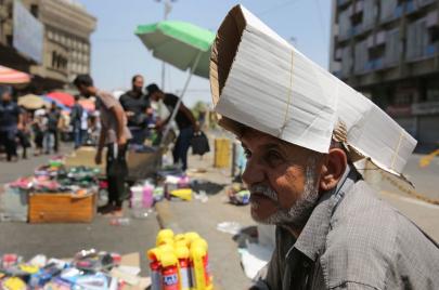 بعد حرارة قياسية.. تأثير بارد لعدة أيام في العراق