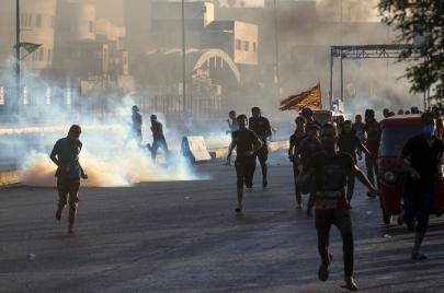 أربيل تمنع التضامن الوطني مع تظاهرات بغداد وتسمح بالتظاهر العرقي فقط