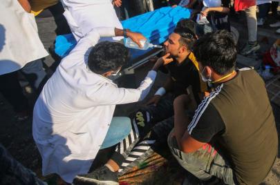 معاناة كوادر الصحة في الاحتجاج.. كيف ظفر