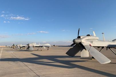 هجوم صاروخي في بغداد.. وإسقاط طائرتين مسيرتين فوق