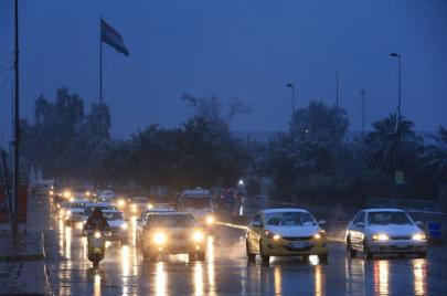 خارطة الأمطار ودرجات الحرارة.. موجة قطبية جديدة تضرب موعدًا مع العراق