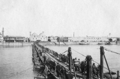 حدث قبل 100 عام.. بغداد والبصرة في صور نادرة