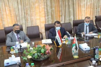 العلم العراقي السابق يشعل ضجة ويعرقل اتفاقية زراعية بين بغداد وعمان