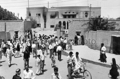 آخر نظرة طفولية لبغداد بعد